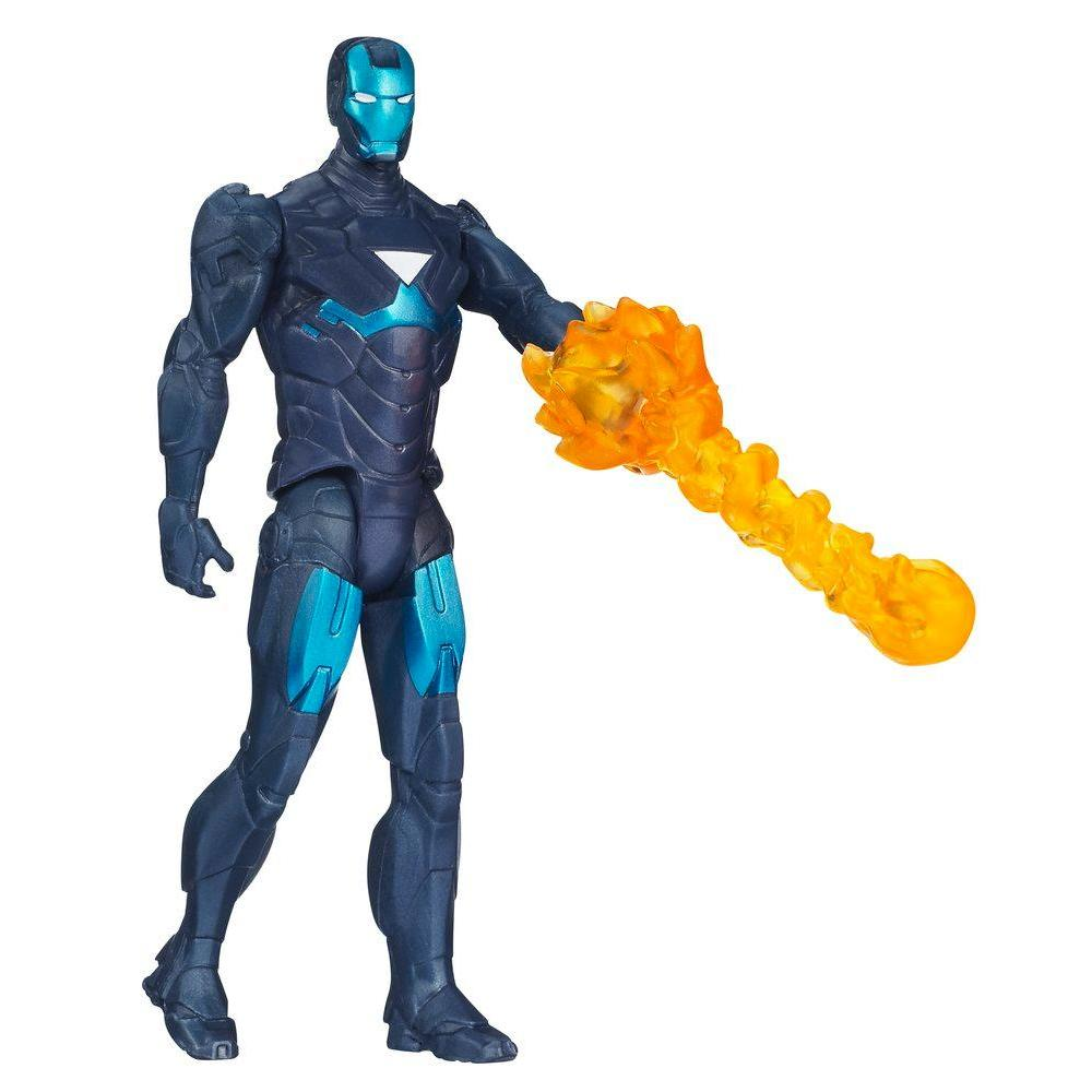 Marvel Iron Man 3 Hydro Shock Iron Man Figure