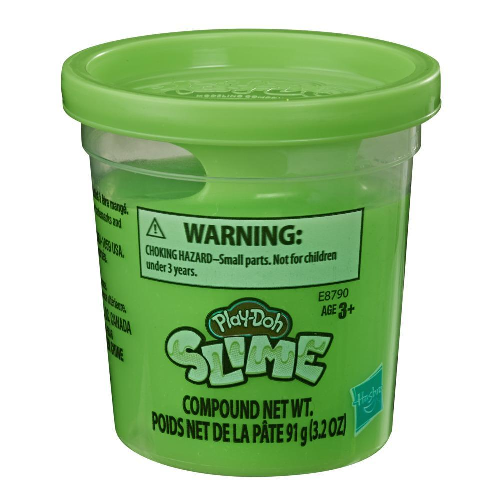 Play-Doh Brand Slime Single 3.2-Ounce Can of Green Slime Compound for Kids 3 Years and Up