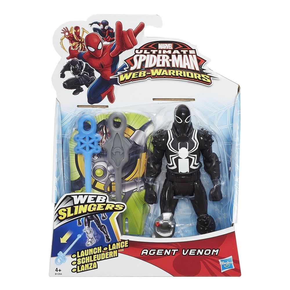 Marvel Ultimate Spider-Man Web Warriors Web Slingers Spyder Knight Figure