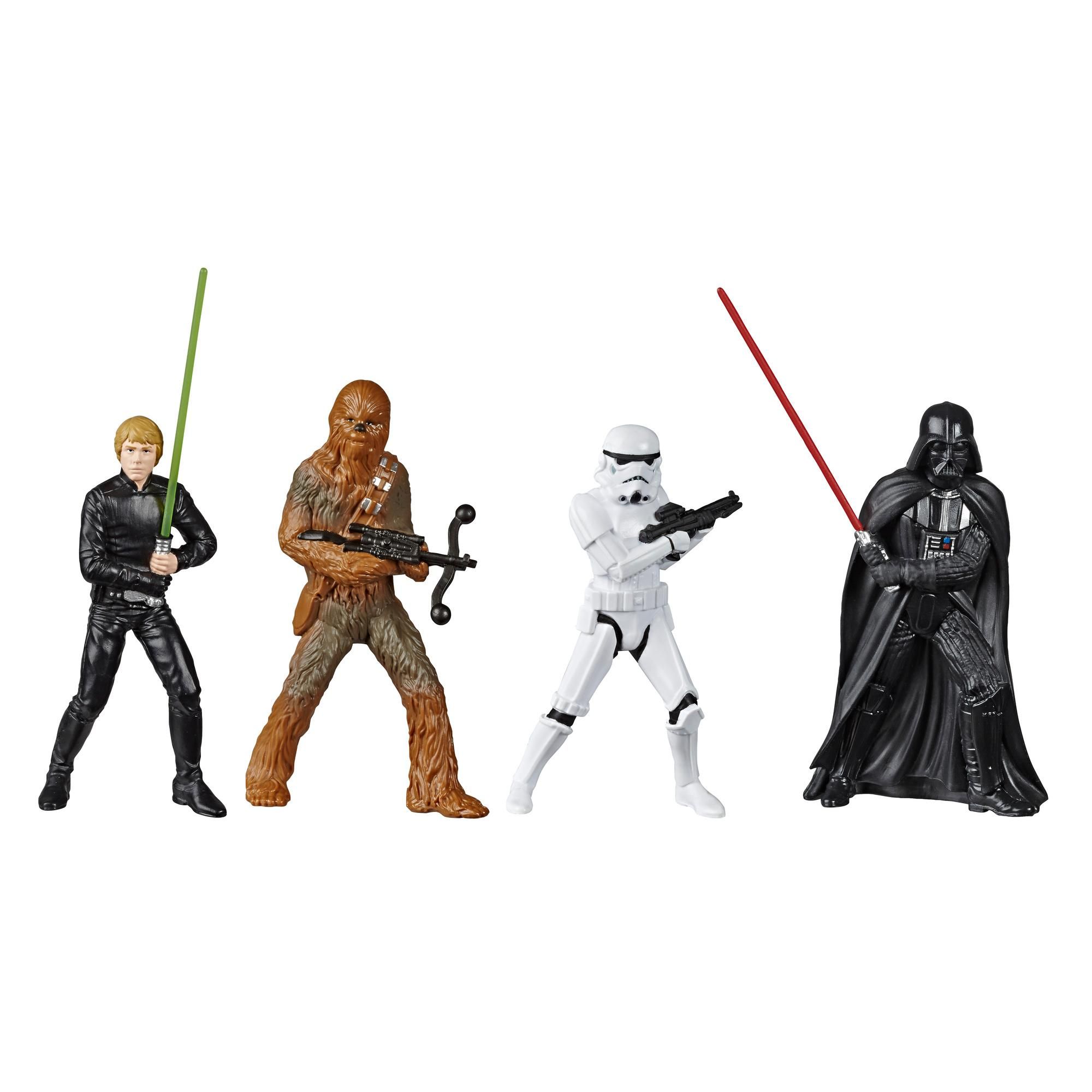 Star Wars: The Rise of Skywalker Value Figures 4-inch Action Figure Assortment, Toys for Kids Ages 4 and Up