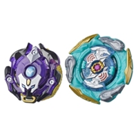 Beyblade Burst Surge Speedstorm Glide Dullahan D6 and Minoboros M6 Spinning Top Dual Pack -- Battling Game Top Toy