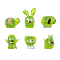 Hanazuki Treasure 6-Pack Lime-Green/Scared (Collection 1)