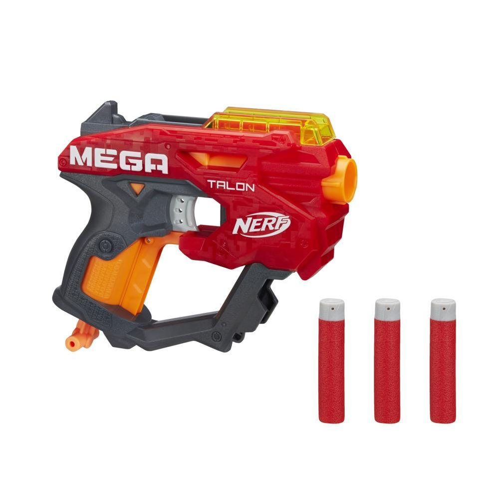 Nerf Mega Talon Blaster -- Includes 3 Official AccuStrike Nerf Mega Darts -- For Kids, Teens, Adults