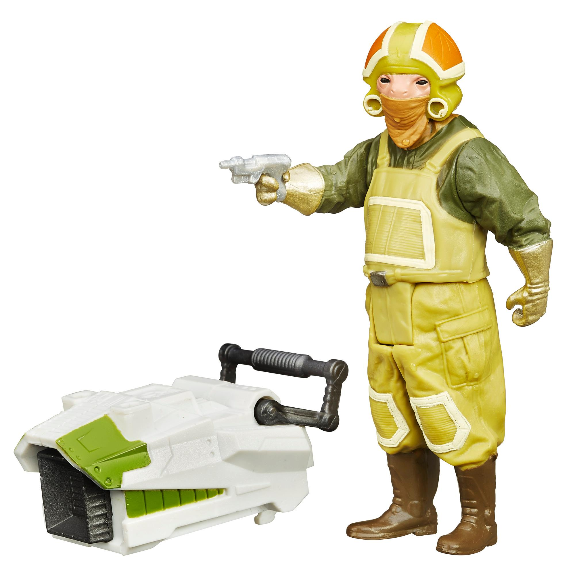 Star Wars The Force Awakens 3.75-Inch Figure Forest Mission Goss Towers
