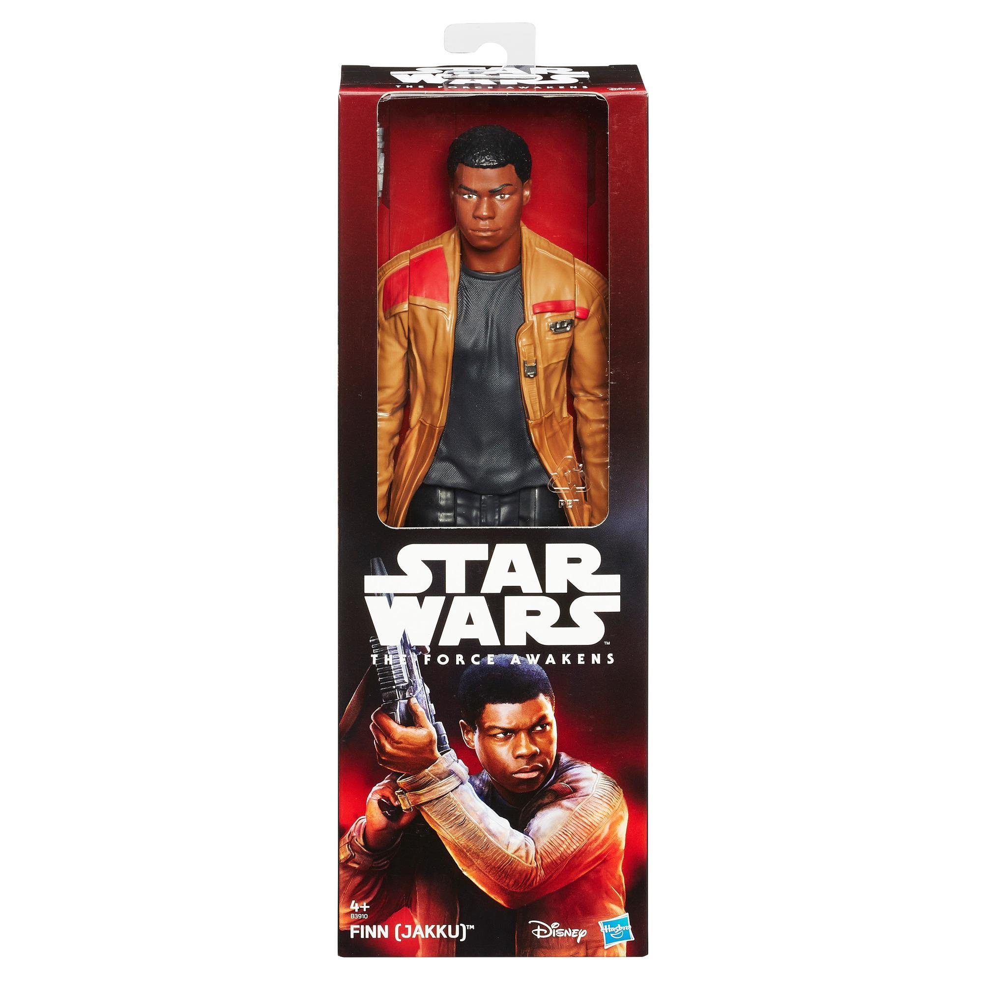 SW E7 Hero Series Figures - Finn Jakku Solid