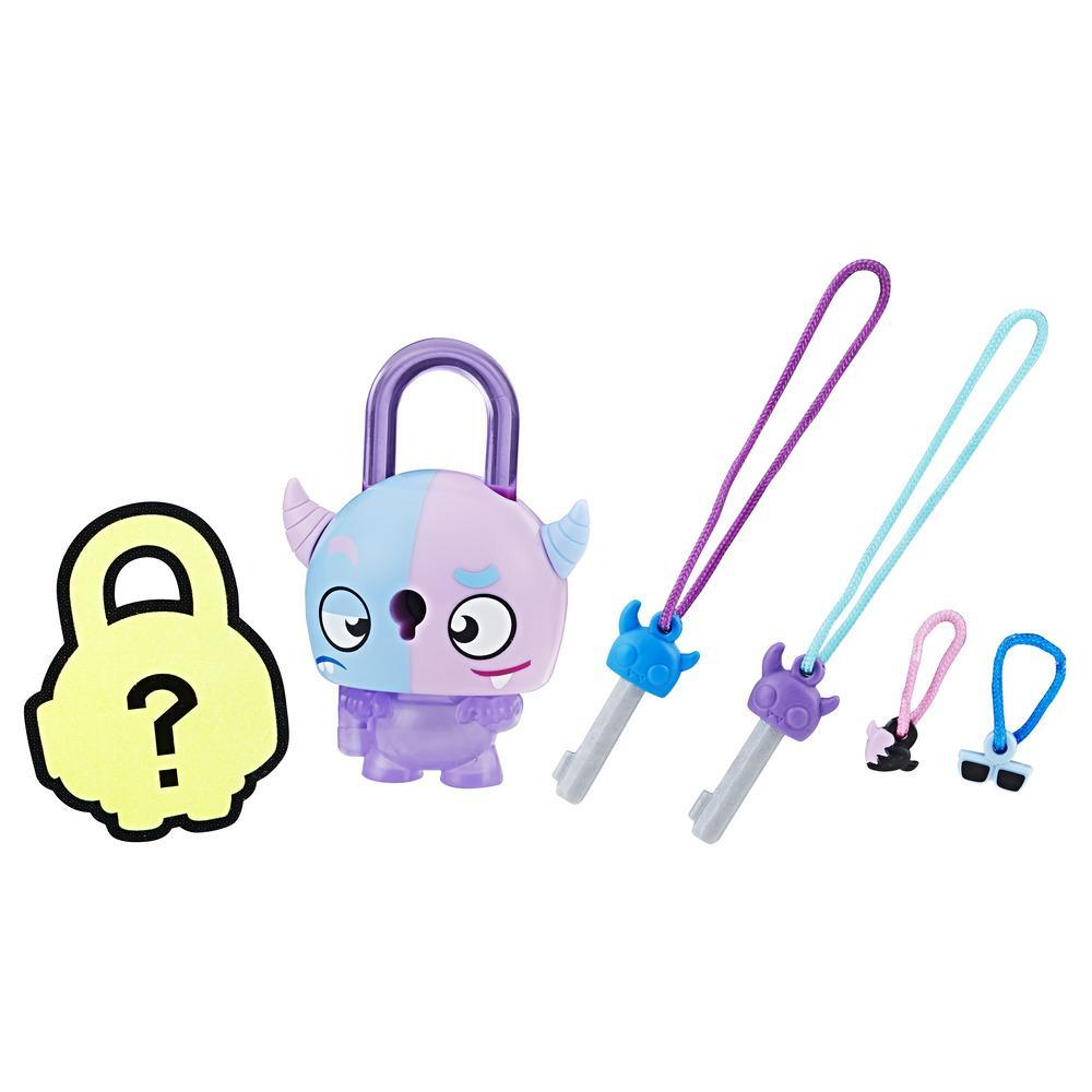 Lock Stars Basic Assortment Two-Faced Monster–Series 2 (Product may vary)