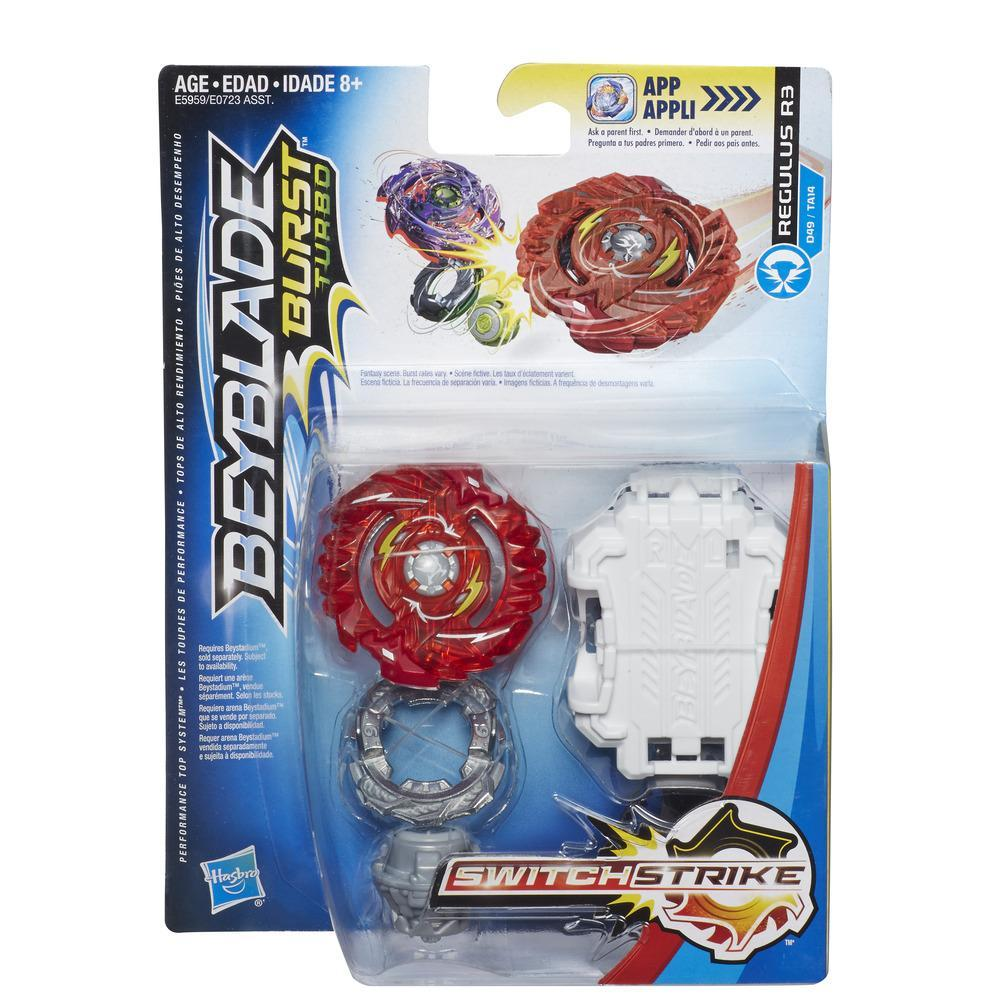 Beyblade Burst Turbo SwitchStrike Regulus R3 Starter Pack