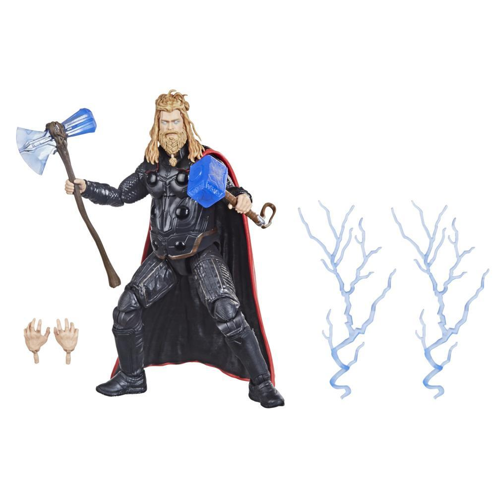 Hasbro Marvel Legends Series 6-inch Scale Action Figure Toy Thor, Includes Premium Design and 5 Accessories