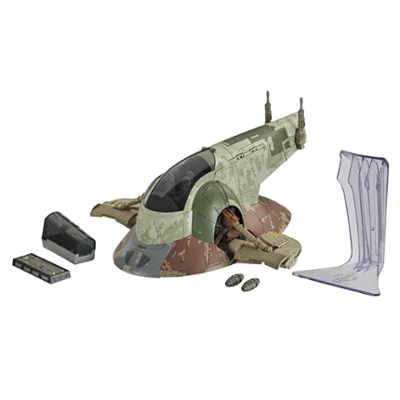 Star Wars The Vintage Collection Star Wars: The Empire Strikes Back Boba Fett's Slave I Toy Vehicle, Kids Ages 4 and Up