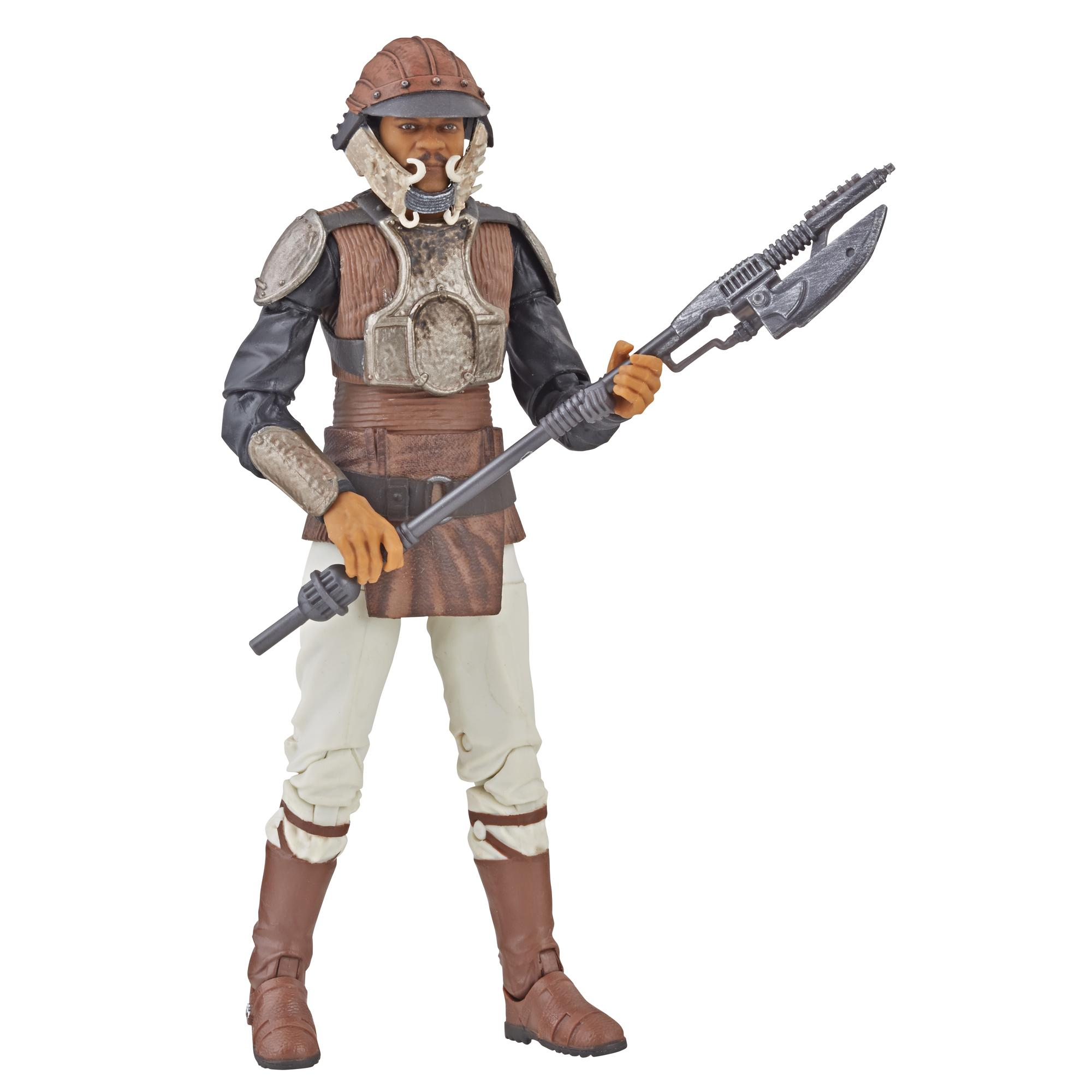 Star Wars The Black Series 6-inch Lando Calrissian (Skiff Guard Disguise) figure