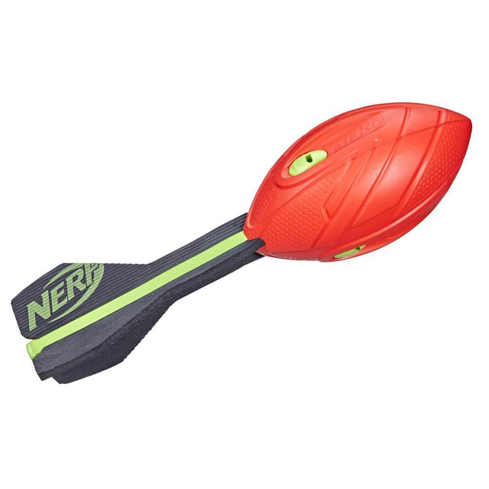 Nerf Vortex Aero Howler Foam Ball, Classic Long-Distance Football, Flight-Optimizing Tail, Hand Grip, Indoor Outdoor Fun