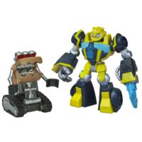 Playskool Heroes Transformers Rescue Bots Bumblebee and Scrapmaster Figure Pack
