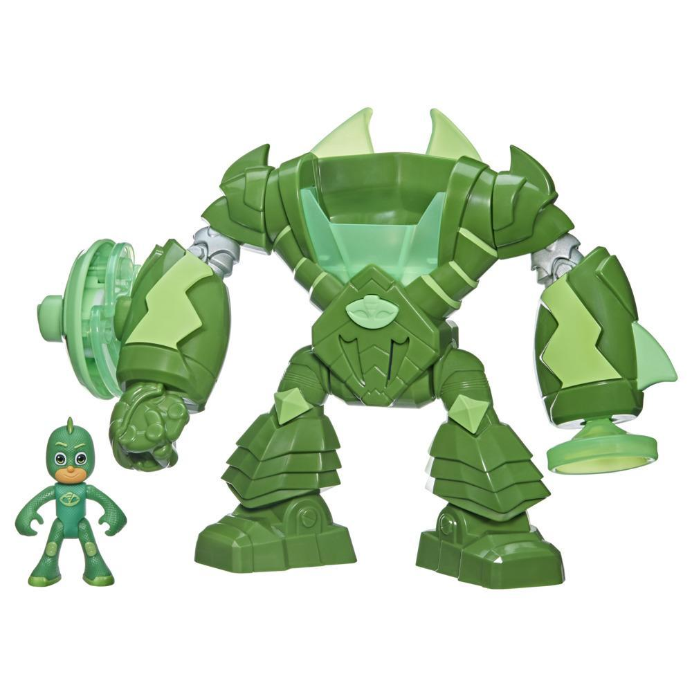 PJ Masks Robo-Gekko Preschool Toy with Lights and Sounds for Kids Ages 3 and Up, Includes Gekko Action Figure