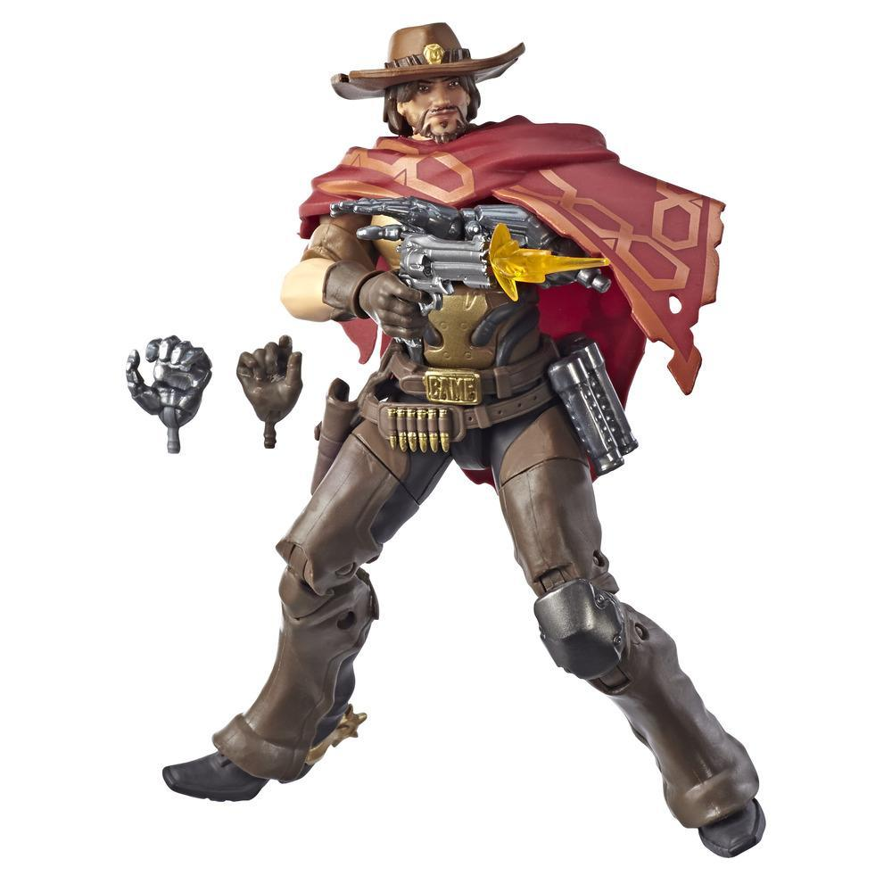 Overwatch Ultimates Series McCree 6-Inch-Scale Collectible Video Game Character Action Figure