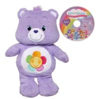 Care Bears Harmony Bear Plush with DVD