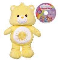 Care Bears Funshine Bear Plush with DVD