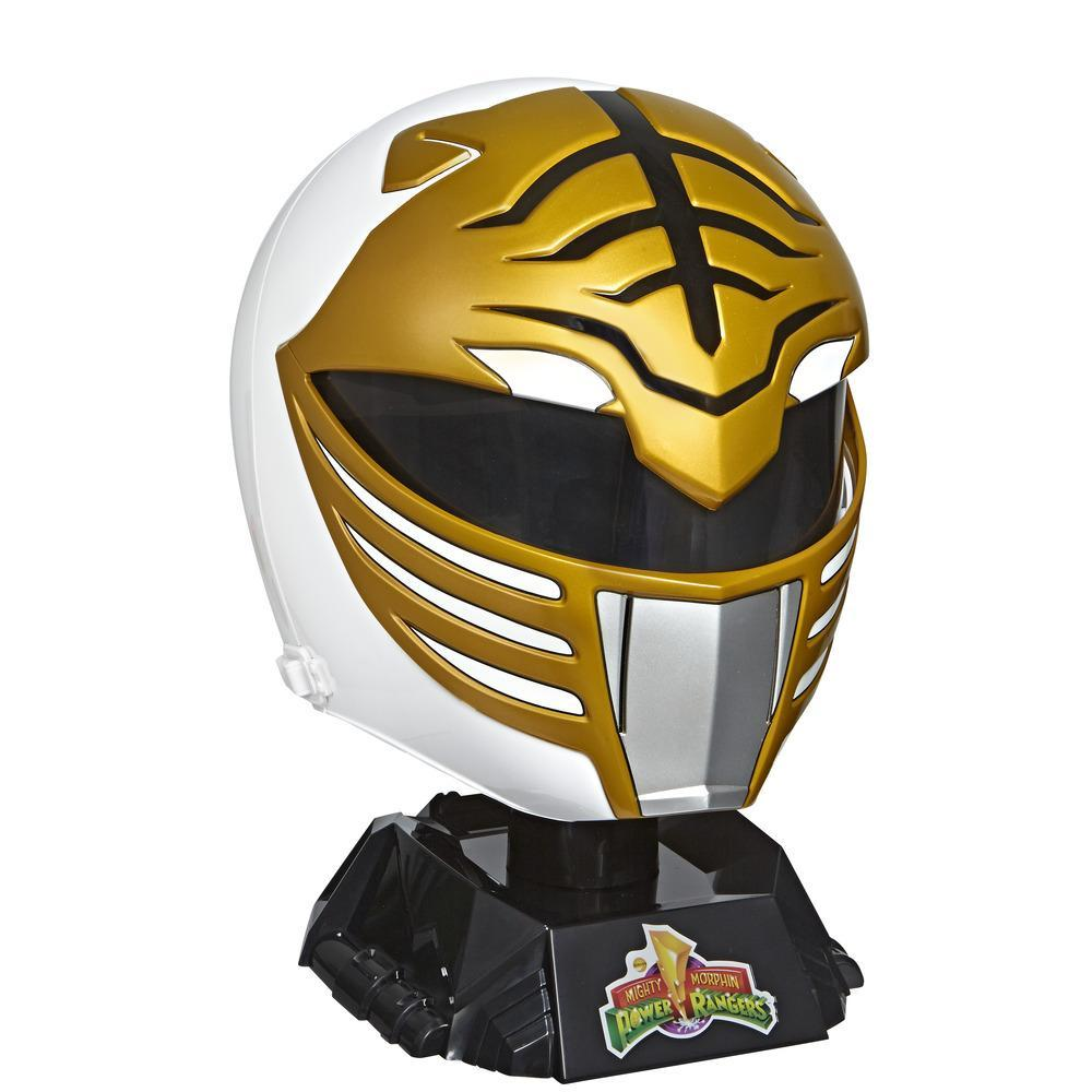 Power Rangers Lightning Collection Mighty Morphin White Ranger Helmet