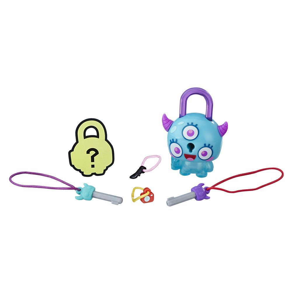 Lock Stars Basic Assortment Horned Teal Monster -- Series 1