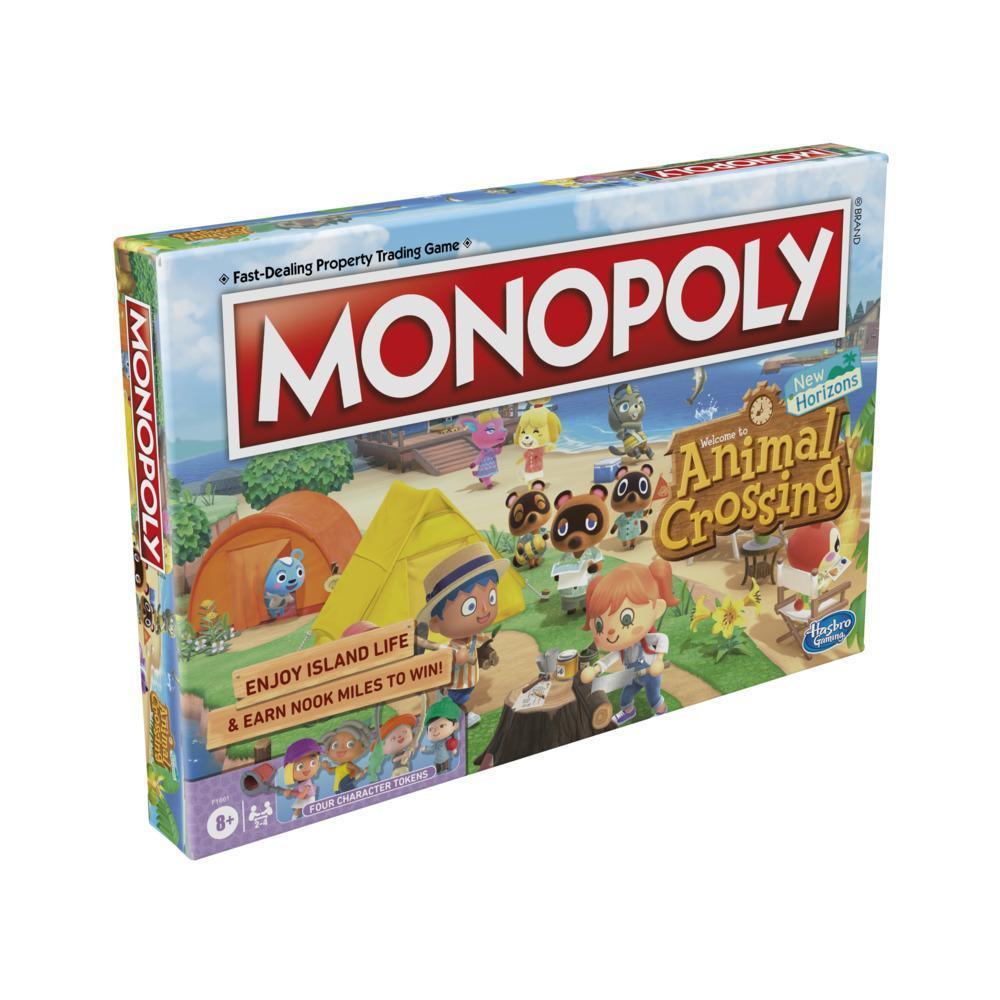 Monopoly Animal Crossing New Horizons Edition Board Game for Kids Ages 8 and Up, Fun Game to Play