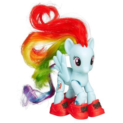 My Little Pony Friendship is Magic Rainbow Dash Sightseeing Figure