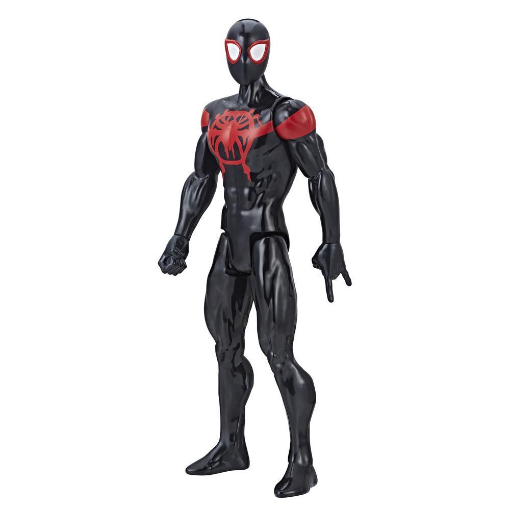 Spider-Man: Into the Spider-Verse Titan Hero Series Miles Morales with Titan Hero Power FX Port