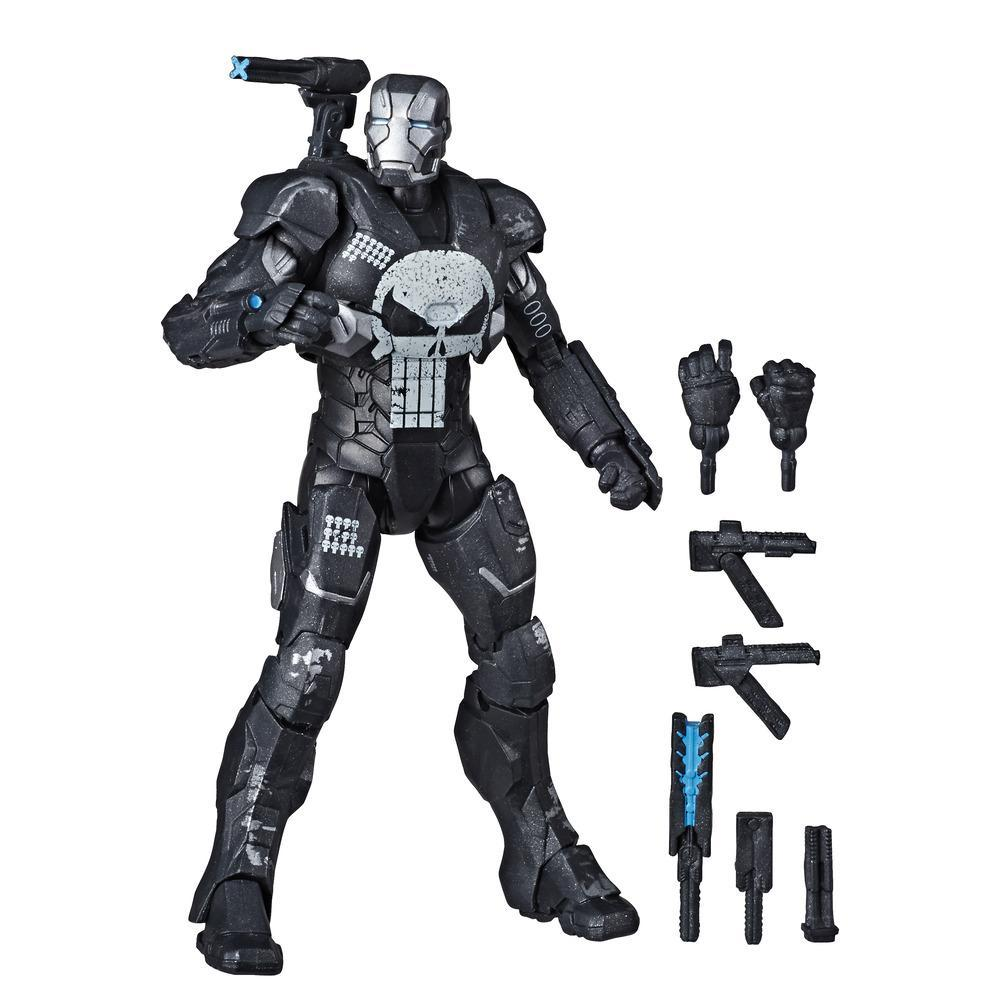 Hasbro Marvel Legends Series 6-Inch Collectible Action Figure Marvel's Punisher War Machine Toy