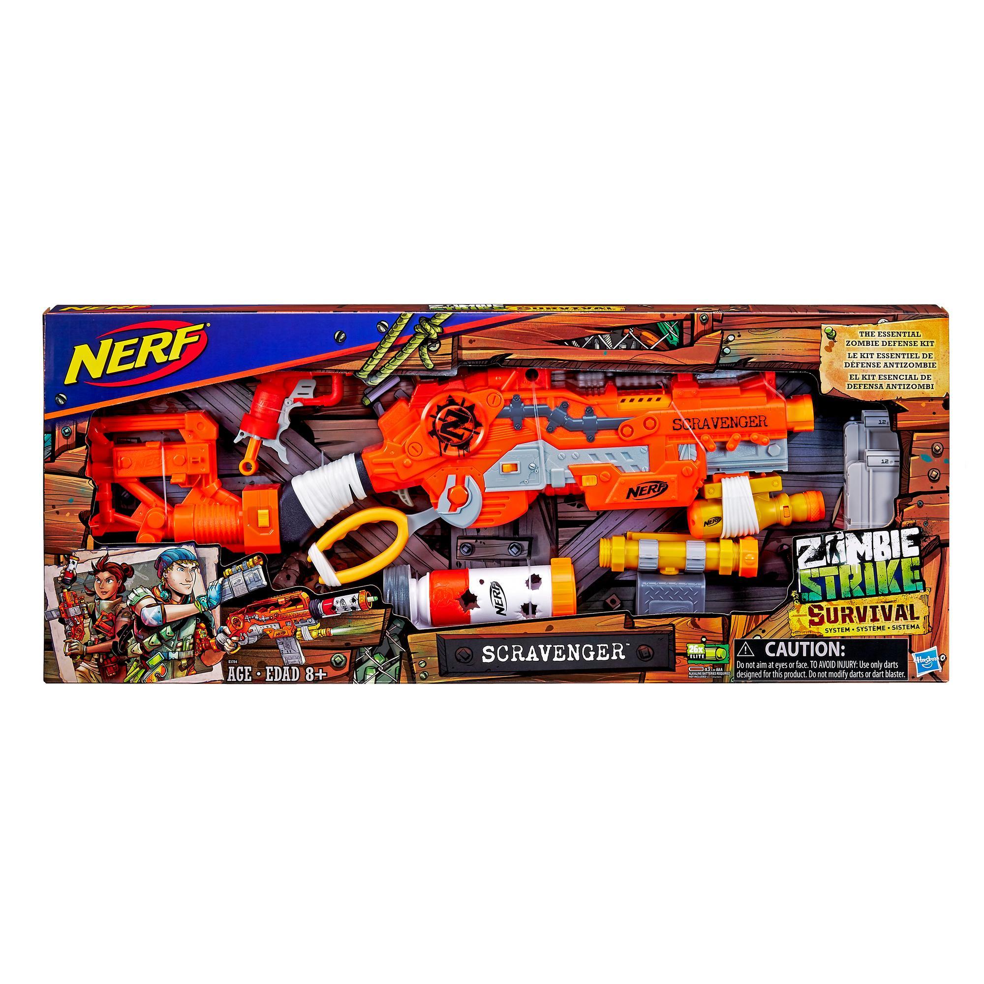 Nerf Zombie Strike Survival System Scravenger