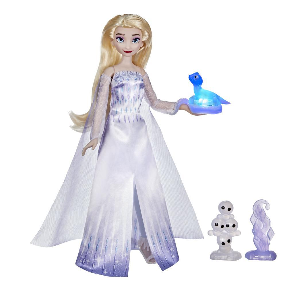 Disney's Frozen 2 Talking Elsa and Friends, Elsa Doll with Sounds and Phrases, Toy for Kids 3 and Up