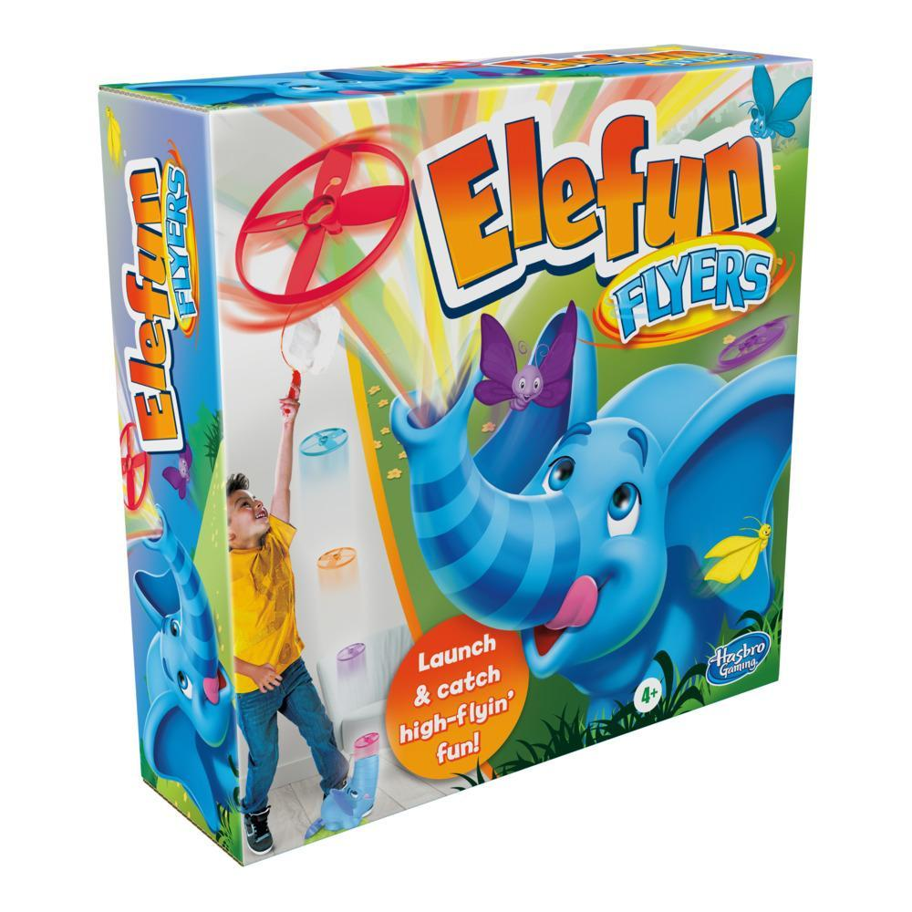 Elefun Flyers Butterfly Chasing Game for Kids Ages 4 and Up, for 1-3 Players
