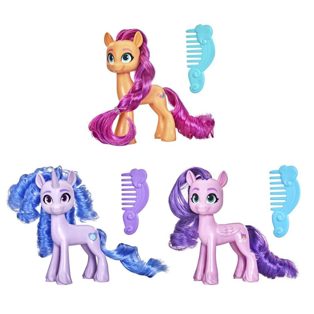 My Little Pony: A New Generation Best Movie Friends Figure - 3-Inch Pony Toy with Comb for Kids Ages 3 and Up