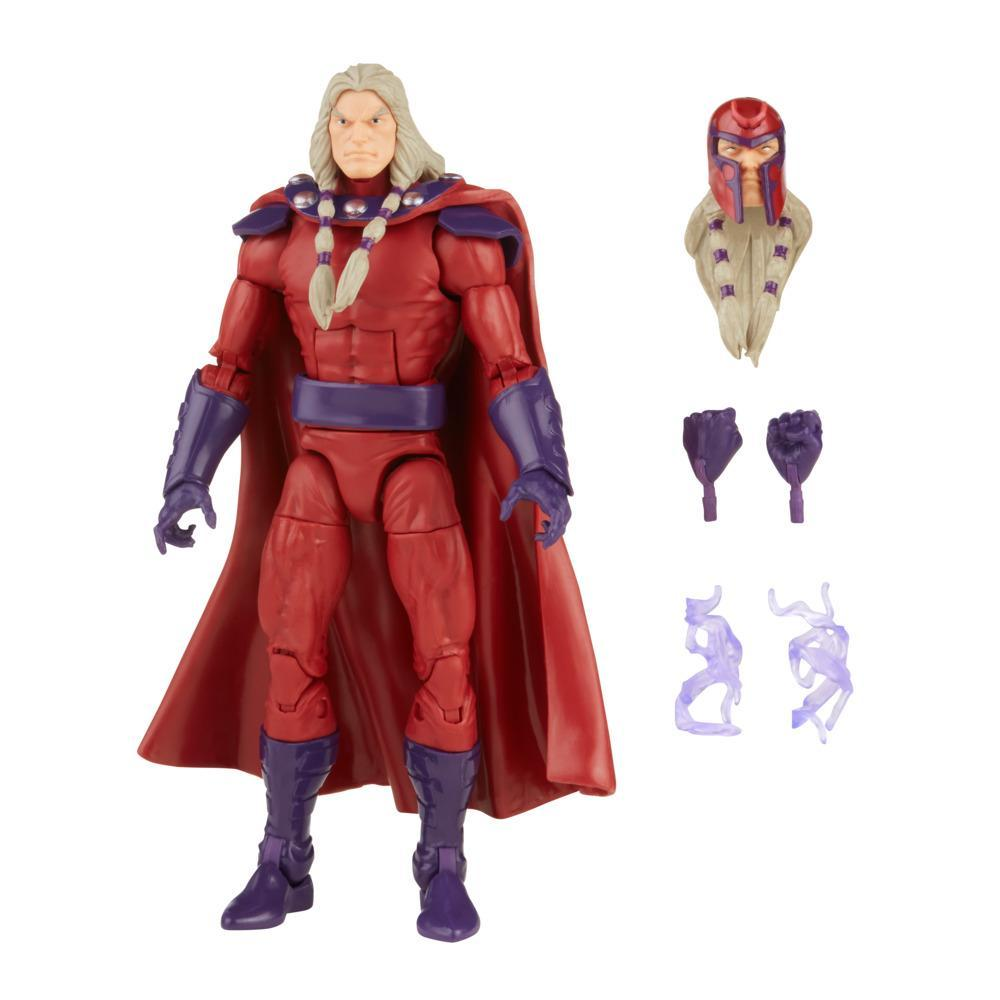 Hasbro Marvel Legends Series 6-inch Scale Action Figure Toy Magneto, Includes Premium Design and 5 Accessories