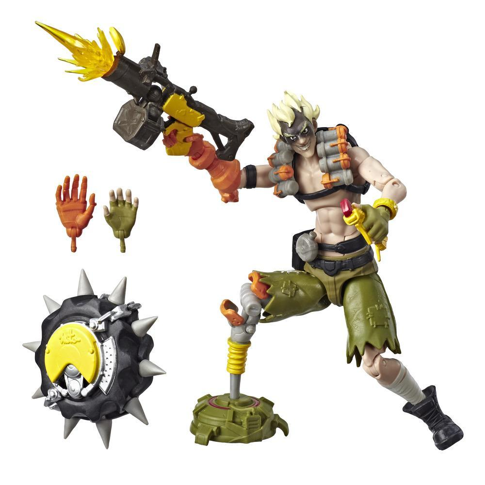 Overwatch Ultimates Series Junkrat 6-Inch-Scale Collectible Video Game Character Action Figure