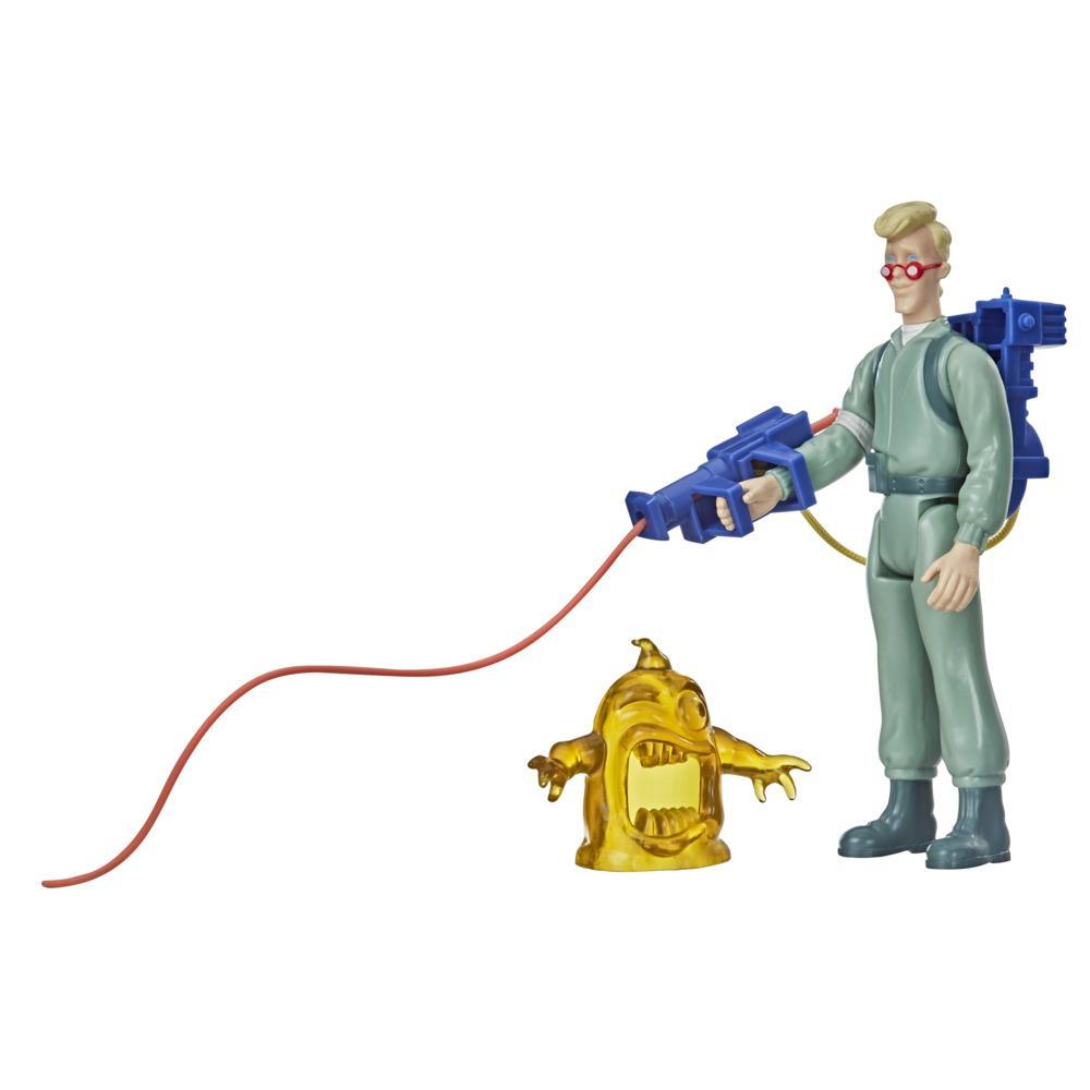 Ghostbusters Kenner Classics Egon Spengler and Gulper Ghost Retro Action Figures with Proton Pack and Accessories