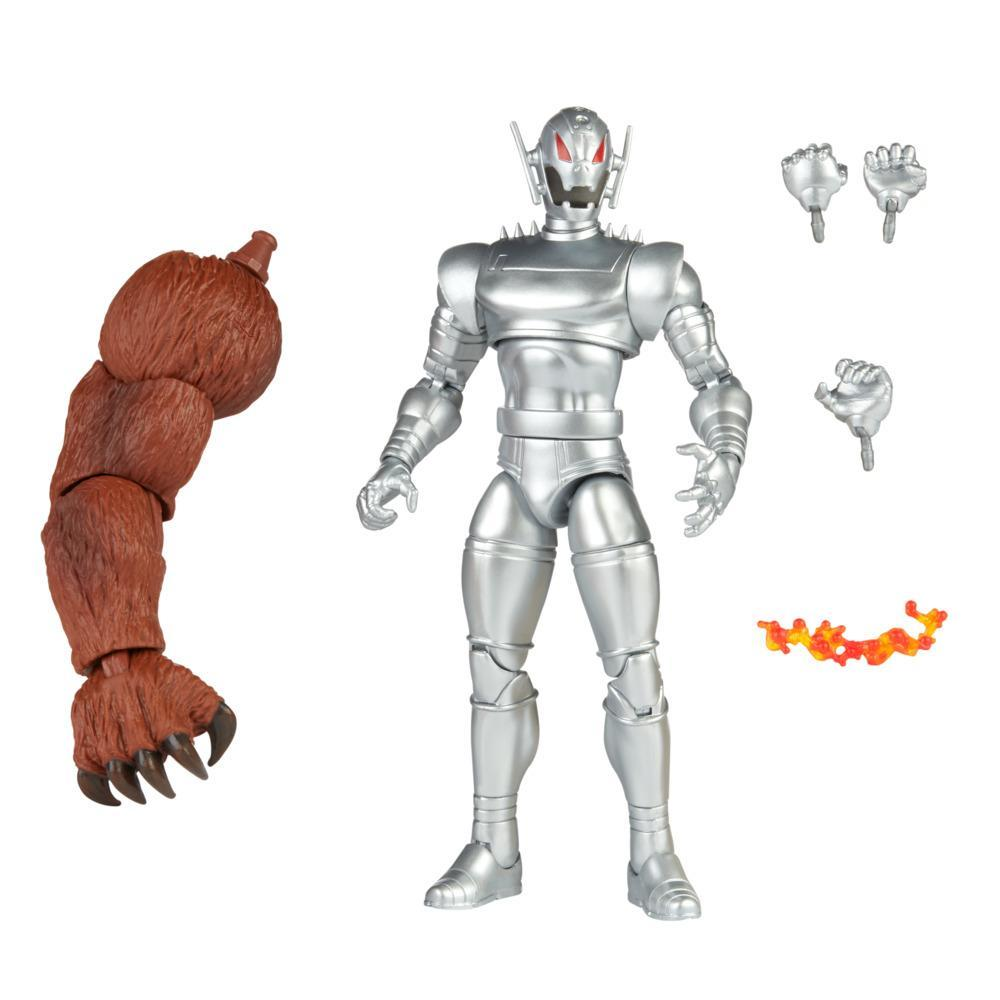 Hasbro Marvel Legends Series 6-inch Ultron Action Figure Toy, Includes 5 accessories and Build-A-Figure Part