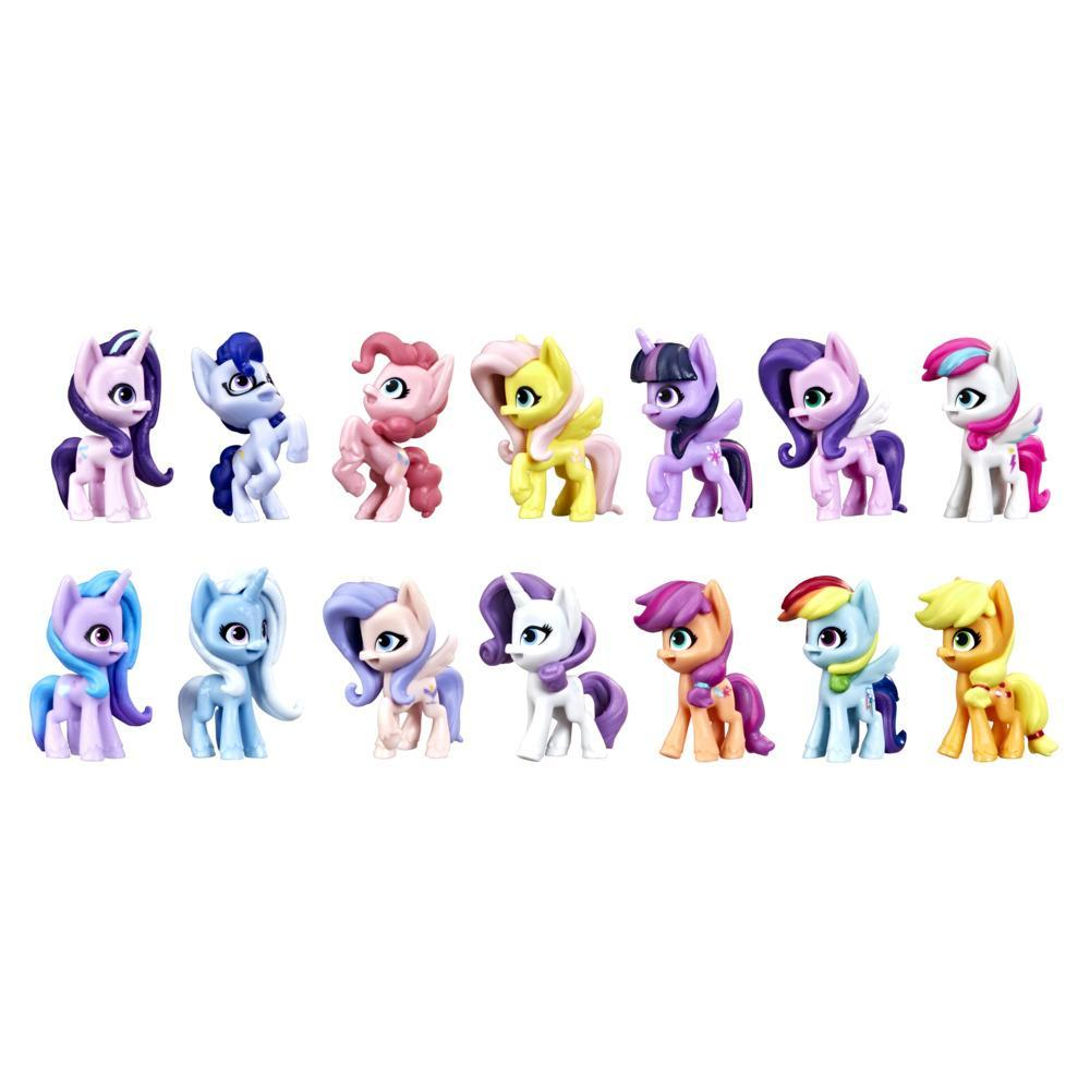 My Little Pony: A New Generation Friendship Shine Collection - 14 Pony Figure Toys for Kids