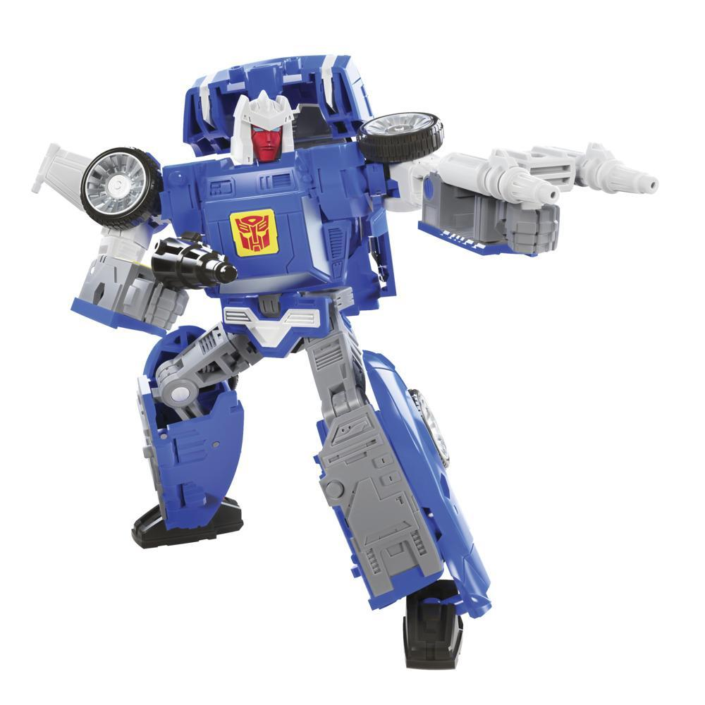 Transformers Toys Generations War for Cybertron: Kingdom Deluxe WFC-K26 Autobot Tracks Action Figure - 8 and Up, 5.5-inch