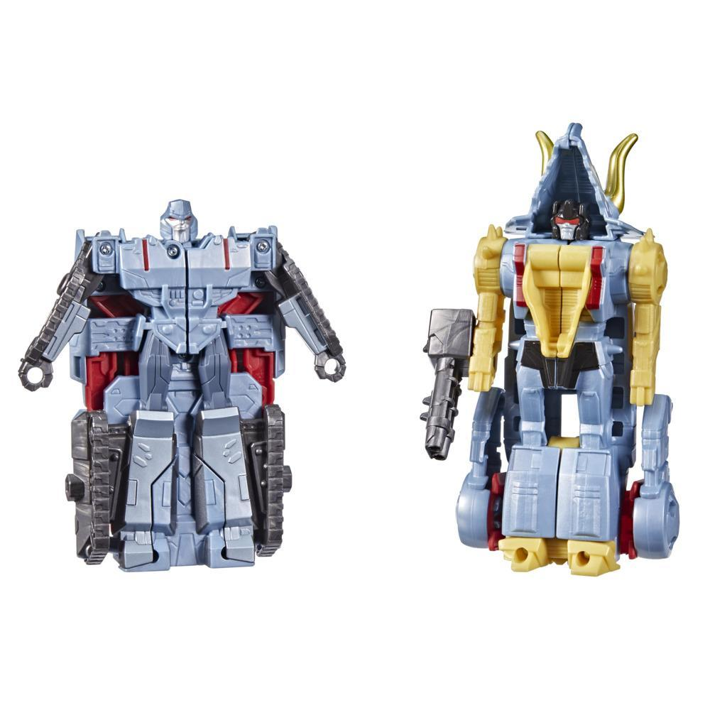 Transformers Bumblebee Cyberverse Adventures Dinobots Unite Dino Combiners Slugtron Figures, Ages 6 and Up, 4.5-inch