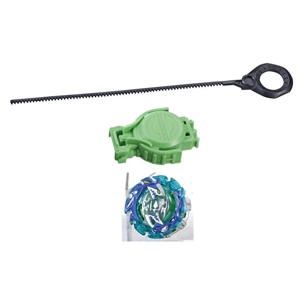 Beyblade Burst Slingshock Rip Fire Starter Pack Forneus F4: Light-Up Top with Right/Left-Spin Launcher, Age 8+