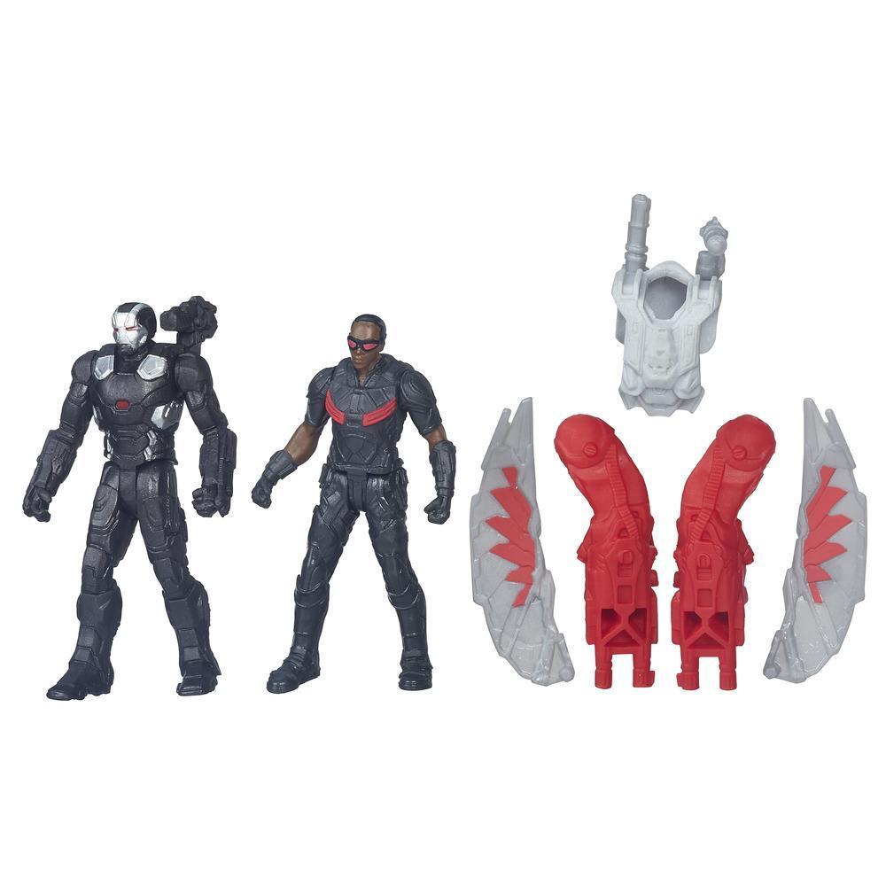 Marvel Captain America: Civil War Marvel's Falcon v. Marvel's War Machine