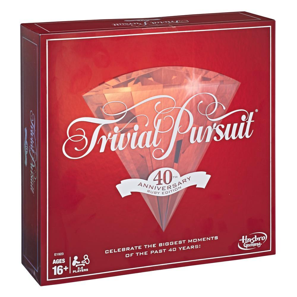 Trivial Pursuit 40th Anniversary Ruby Edition