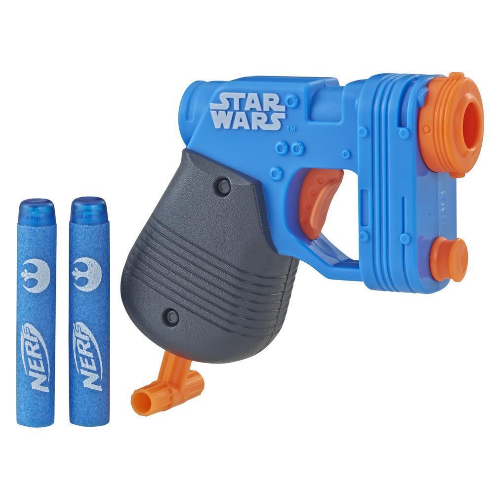 Nerf MicroShots Star Wars Rey (Island Journey) Blaster