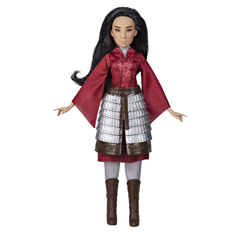 Disney Mulan Fashion Doll with Skirt Armor and Pants Inspired by Disney's Live-Action Movie, Toy for Kids and Collectors