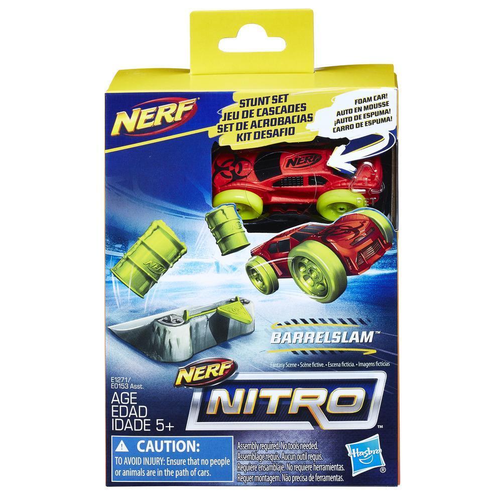 Nerf Nitro BarrelSlam Stunt Set