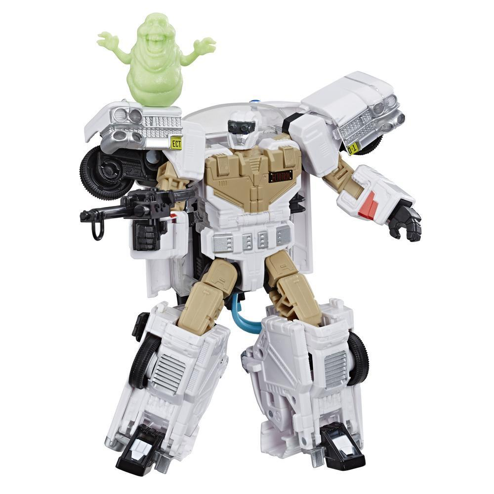 Transformers Generations -- Transformers Collaborative: Ghostbusters Mash-Up, Ecto-1 Ectotron Figure