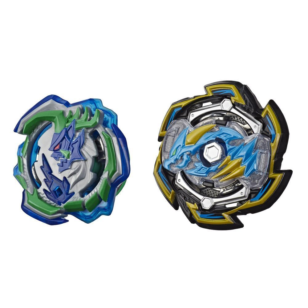 Beyblade Burst Rise Hypersphere Dual Pack Rock Dragon D5 and Ogre O5 -- 2 Right-Spin Battling Top Toys, Ages 8 and Up