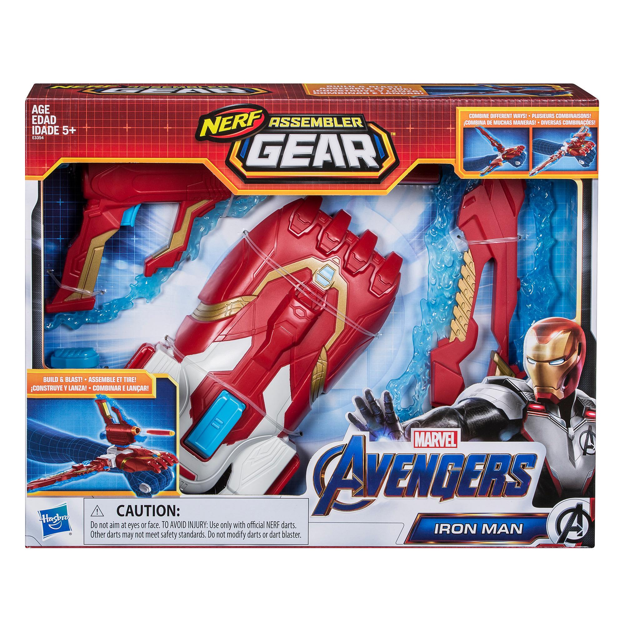 Marvel Avengers: Endgame Nerf Iron Man Assembler Gear