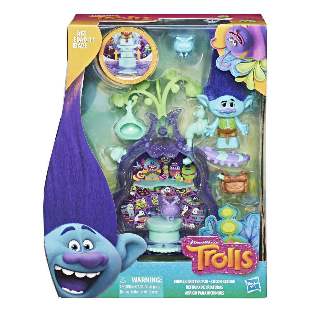 DreamWorks Trolls Bunker Critter Pod