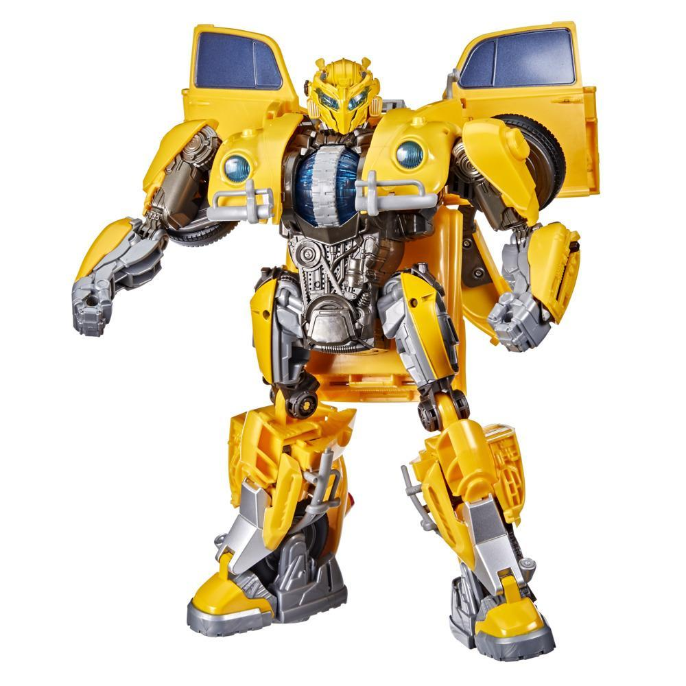 Transformers Toys Transformers: Bumblebee Movie Power Charge Bumblebee Action Figure, Ages 6 and Up, 10.5-inch
