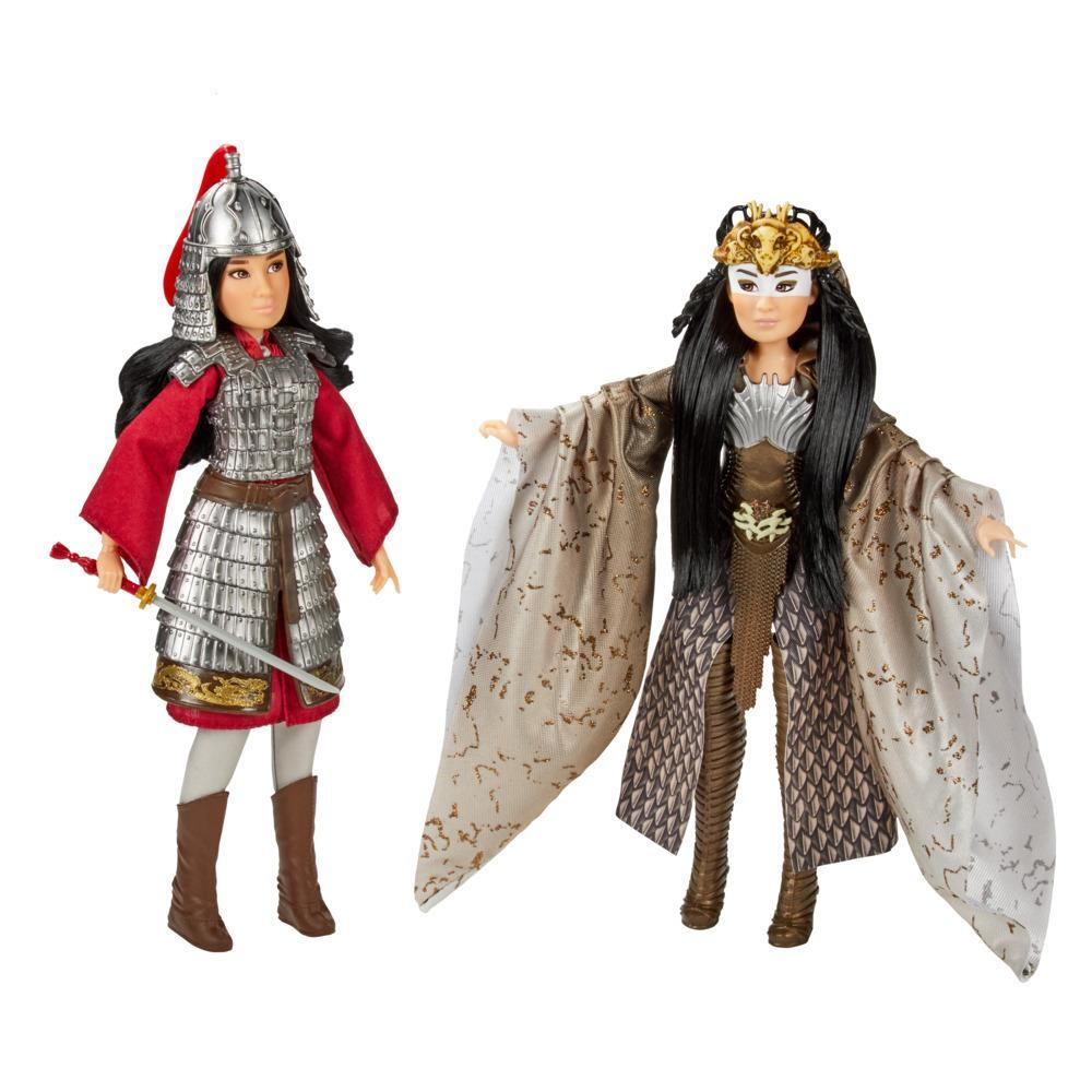 Disney Mulan and Xianniang Dolls with Accessories, Inspired by Disney's Mulan Movie, For Kids and Collectors