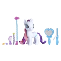 My Little Pony Magical Salon Rarity Toy -- 6-Inch Hair Styling Fashion Pony